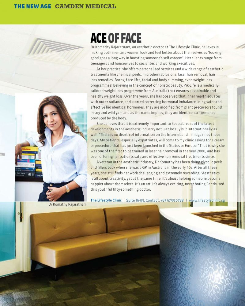 Ace of Face - Aesthetic Clinic Singapore